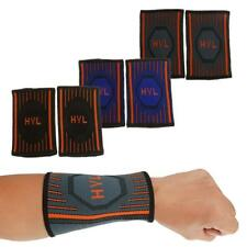Stretch Tennis Basketball Compression Wrist Sweat Band Gym Workout Running Brace