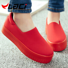 Flats women New 2016 Spring Casual Shoes Canvas Platform Shoes creepers