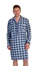 Haigman Men's Luxury Brushed Cotton Nightshirt Nightwear 7394