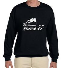Peterbilt 587 Semi Truck Classic Outline Design Sweatshirt NEW
