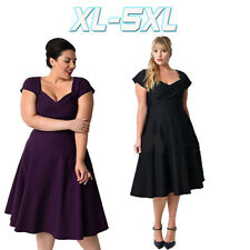 Women Oversized Original Style Swing Evening Party Formal Gowns Plus Size Dress