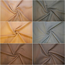 Washable Melton polyester Mix Wool Look Fabric Cashmere