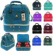 4 Bowl Carry Bag with Shoe Pocket