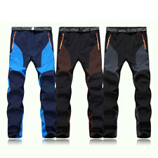 Men Outdoor Sports Pants Keep Warm Waterproof Breathable Hiking Camping Trousers