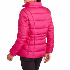 NEW Faded Glory Women's Hooded Pink Puffer Coat Jacket Bubble NWT XS TO 3XL