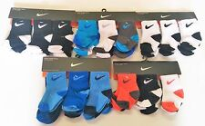 New Nike baby boy 6-12 12-24 months 6 pair athletic socks toddler infant sport