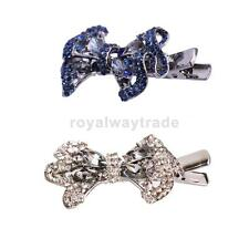 Shiny Bowknot Hair Pins Clips Women Girls Hair Accessories Headpiece
