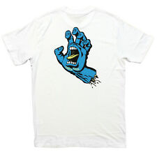 Santa Cruz - Screaming Hand Mens Tee White