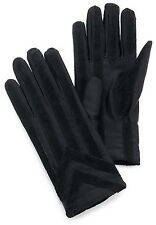 Isotoner Men's Spandex Glove With Suede Palm Strips Style 24028