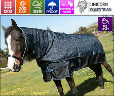 Unicorn Paddock Winter Horse Rug 1200D 300G Detachable Neck In Sizes 5'0 to 6'9