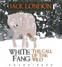 Jack London White Fang/the Call of the Wild 2006 Audio BOOK CD NEW Free Ship!