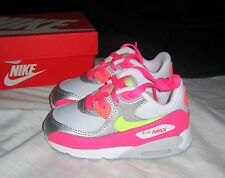 NIB Infant Toddler Girls NIKE AIR MAX 90 Ltr Sneakers 724854 001 - size 5
