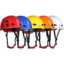 Rock Climbing Helmet Outdoor Sports Mountaineer Kayak Rappel Firefighting Resuce