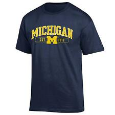 University of Michigan Wolverines T shirt NCAA Navy Blue