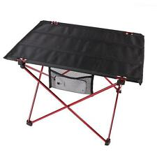 Portable Aluminum Roll Up Folding Table Outdoor Camping Picnic Table Ultra-light
