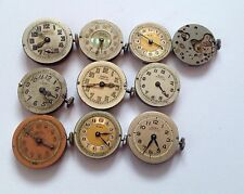 10 X Vintage Oris / Siro Mechanical Watches - Very Old Rare Calibre -