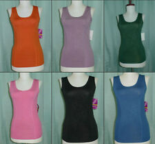 NWT Women fitness yoga workout sport athletic stretchy tank top easy dry S-XL!