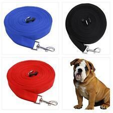 Mixed Colors 50ft/15m Long Dog Pet Puppy Training Obedience Lead Leash
