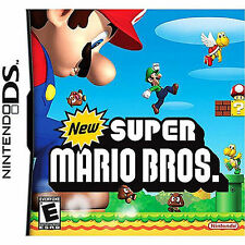New Super Mario Bros. Nintendo DS GAME COMPLETE DS LITE DSI XL 3DS