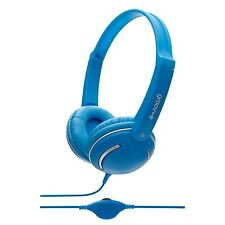 Groov-e GV897/BE Kids DJ Style Streetz Headphones with Volume Control - Blue