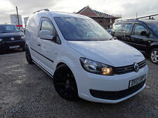 2013 VOLKSWAGEN CADDY 1.6 TDI 140BHP WOLFSBURG EDITION VAN IN WHITE