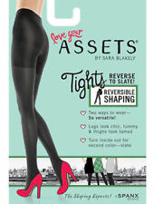 Assets by Sara Blakely Spanx 1602 Women's Reversible Shaping Solid Tights