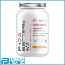 PHD Nutrition Battery +/-3 1kg Pre Intra Post Workout Amino Acid Energy Drink