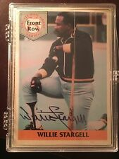 1992 Front Row Stargell Willie Stargell Pittsburgh Pirates #1AU Baseball Card