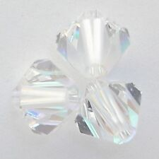 Swarovski 5328 5mm Xilion Bicone Beads Crystal AB   (72 pieces)