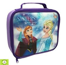 Disney FROZEN Girls 'Sisters Are Magic' Lunch Bag,back to school, kids,lunchtime