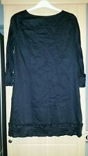 ladies WHISTLES black lined dress size 16