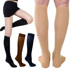 Relief Compression Knee Stockings 30-40 mmhg Leg Socks Massage Support Socks A74