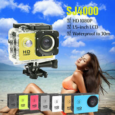 SJ4000 720P HD Waterproof Action Camera Mini Sports DV Helmet Bike DVR Camcorder