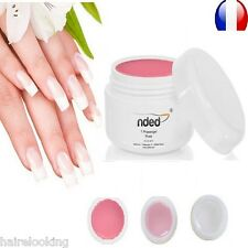SET ONE PHASE UV GEL 3 IN 1 NDED 0.2 oz BASE CONSTRUCTION FINISHING NAILS