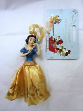 DISNEY CHRISTMAS SNOW WHITE DECORATION ORNAMENT SKETCHBOOK