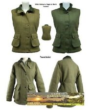 Ladies Derby Tweed Jacket or Gilet / Body Warmer. Hunting, Shooting, Country