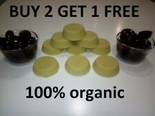 2pcs HANDMADE ORGANIC Olive Oil Lotion / Massage Bars PERFUME AND COLOR FREE