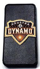 Woodys Originals Inc. Houston Dynamo Leather Cell Phone Cases