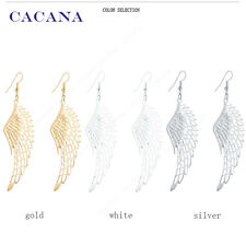 2016 new CACANA gold plated dangle long earrings with top quality for women