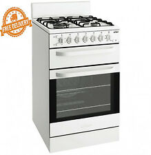 Upright Gas Cooker Oven Chef 54cm Freestanding Separate Grill New Stove Cooker