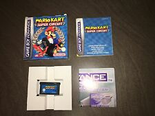 Mario Kart Super Circuit  - Game Boy Advance / GBA SP (Genuine) BOXED
