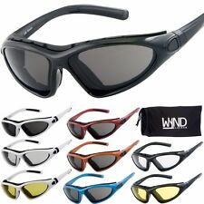 WYND Blocker Sports & Motorcycle Riding Glasses Boating Driving Sunglasses