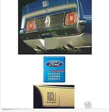 1971 - 1972 FORD MUSTANG MACH 1 STRIPE KIT DECK and NAMES