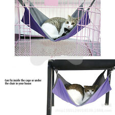 Pet hammock Puppy Dog Cat bed two sides for summer & winter
