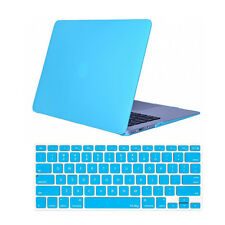 """Crystal Hardcase Shell + Keyboard Cover For Apple Mac Macbook White 13"""" A1342"""