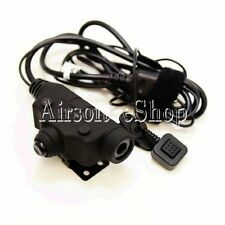 Z-Tactical U94 New Version Headset Cable & PTT for Kenwood 2 Pin