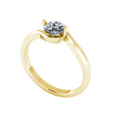 .50ct Solitaire Round Brilliant Cut Ring Certified Natural Diamond 18ct Gold 125