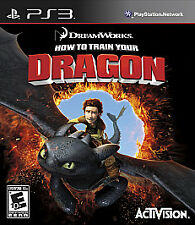How to Train Your Dragon (Sony PlayStation 3, 2010) Game and Case! Ships Fast!