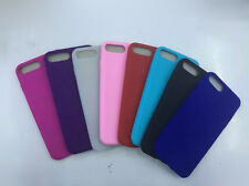 10pcs/lot Smooth Silicone TPU Gel Cover Soft Case for iPhone 7/7plus