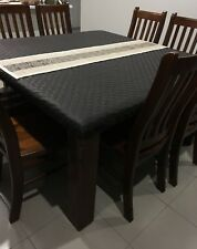 SQUARE Table Protector OXFORD QUILT YOU CHOOSE SIZE & COLOUR